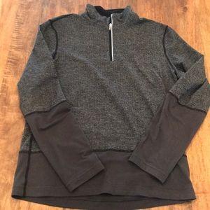 """Lululemon 1/4"""" zip sweatshirt"""